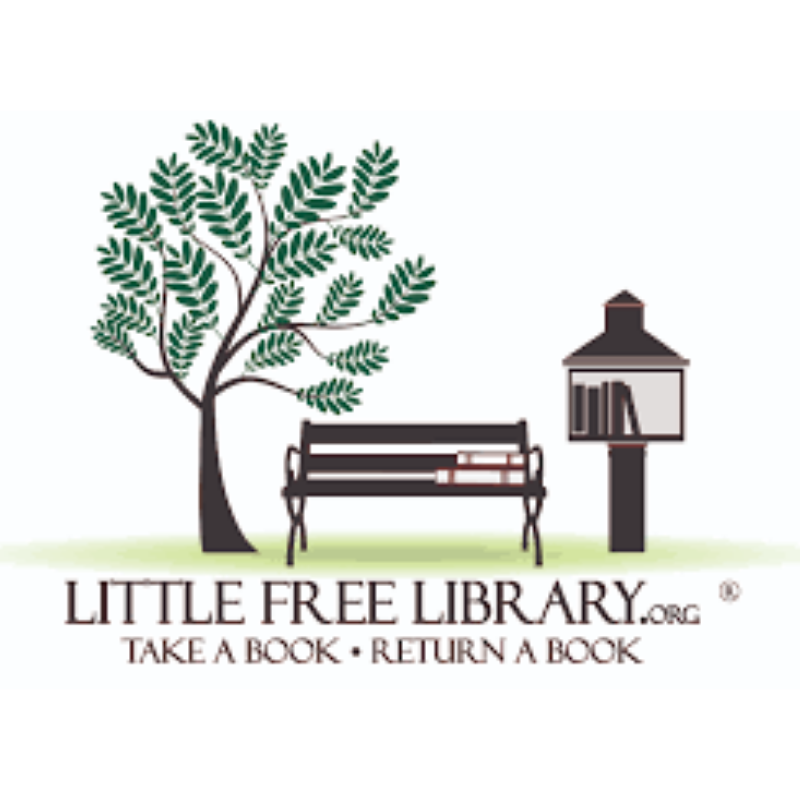 Little Free Library Change Jar